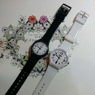 【二手】日本購入J-axis黑白對錶