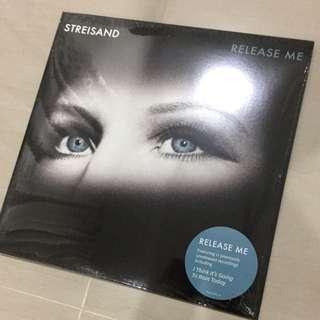 Vinyl Record : Release Me - Barbra Streisand