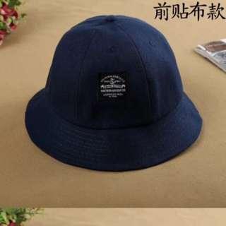 藍色 漁夫帽