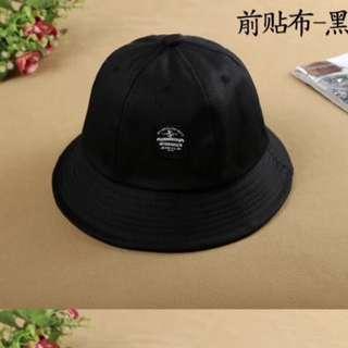 黑色 漁夫帽
