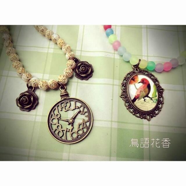 手作■串珠項鍊