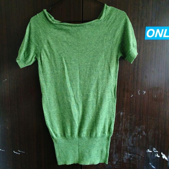 ⭐️針織墨綠上衣⭐️可議
