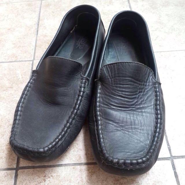 老船長小牛皮休閒鞋