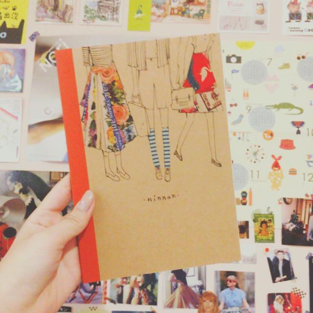 (自製)手繪紙膠帶筆記本
