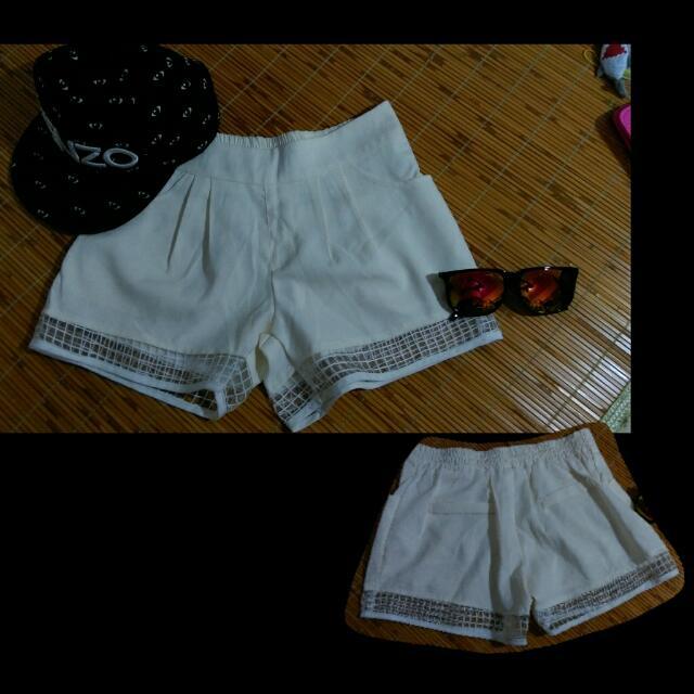 👖白色短褲✨