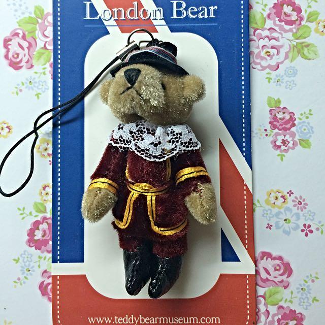 韓國泰迪熊吊飾,韓國泰迪熊博物館出售,全新