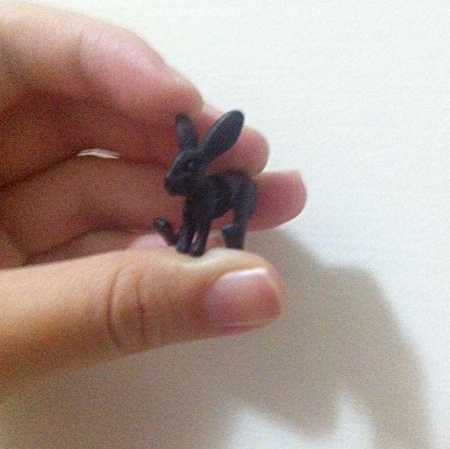 兔子耳環動物耳環