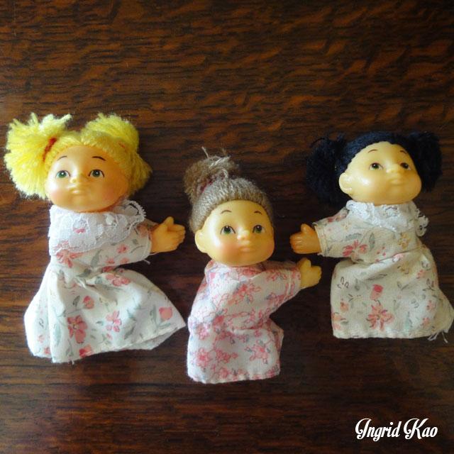 早期 小娃娃夾
