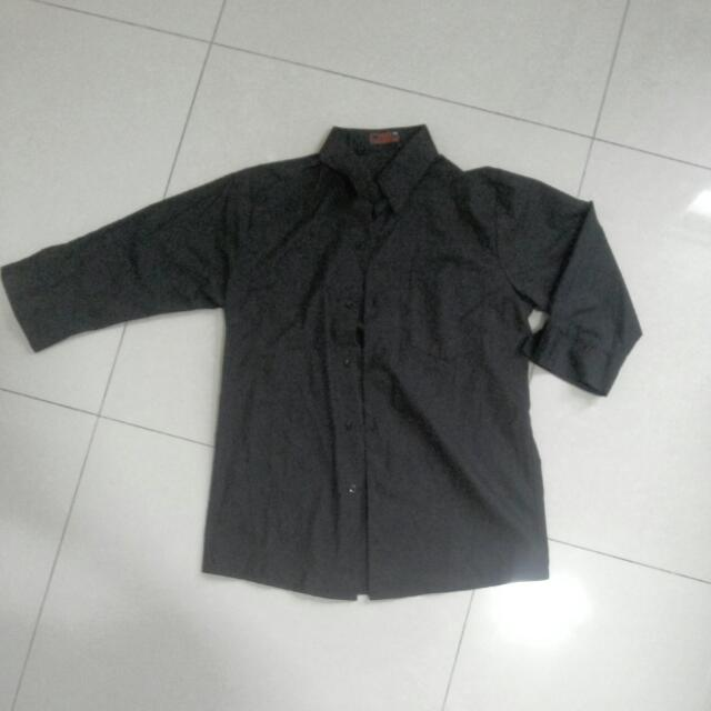 黑襯衫 五分袖|含運|