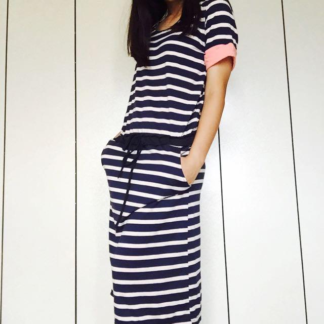 ✨全新✨ 條紋長裙