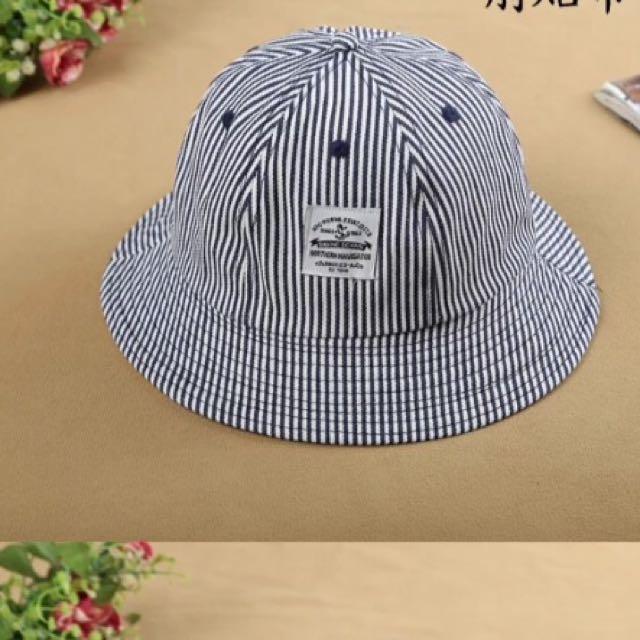 漁夫帽 條紋