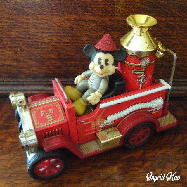 早期 日本製 米奇 消防車