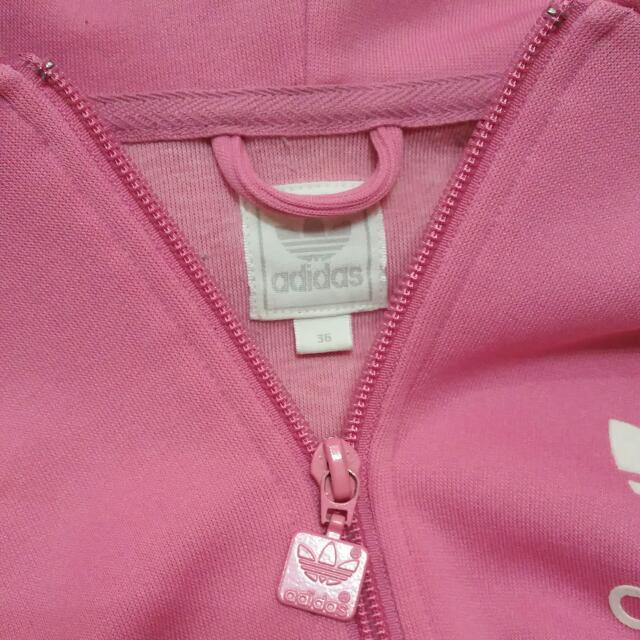 Adidas Original Hoodie (Hot Pink), Sports on Carousell