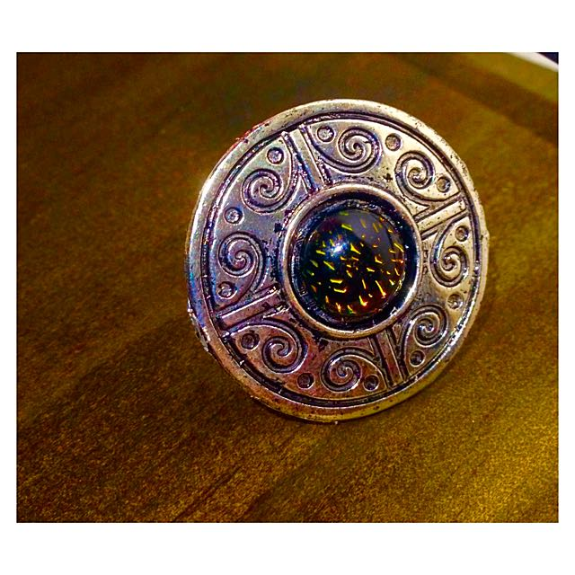 Aztec Silver Ring