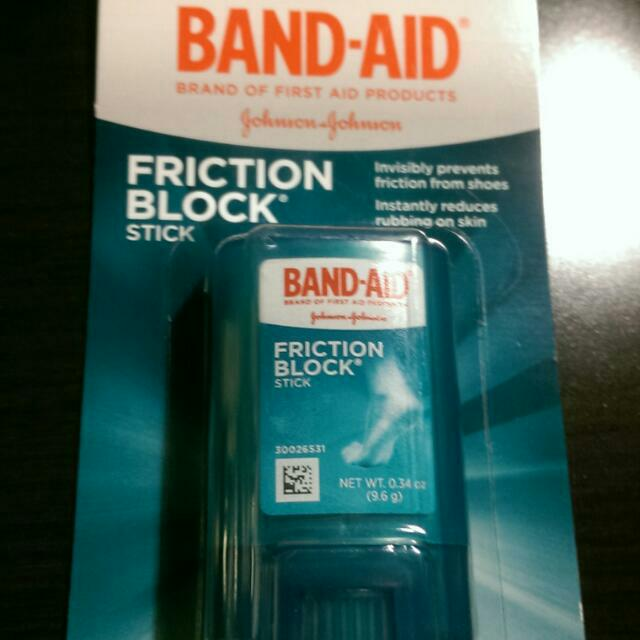 Band Aid Friction Block腳部防磨膏