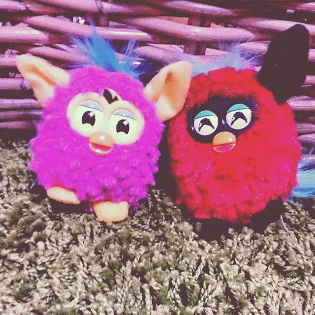 麥當勞玩具Furby_菲比好朋友