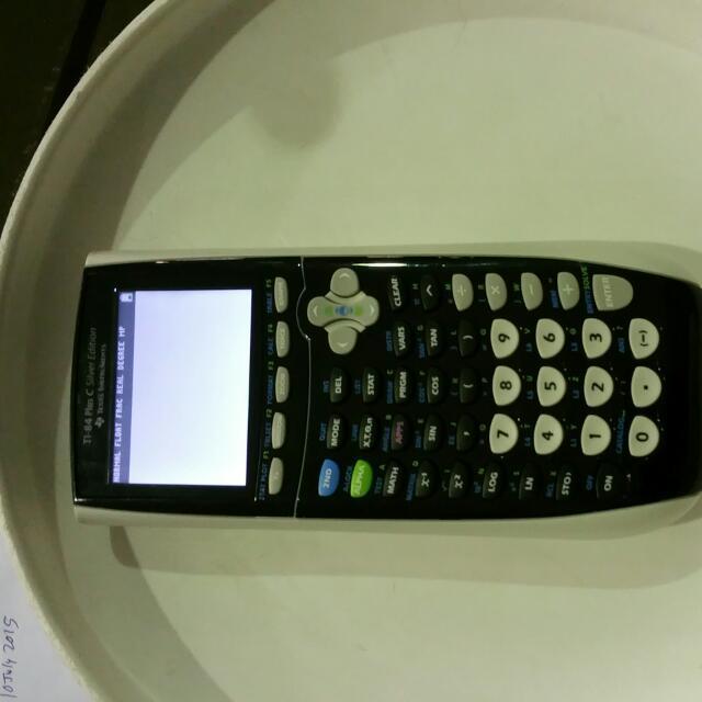 Graphic Calculator Texas Instrument Ti-84