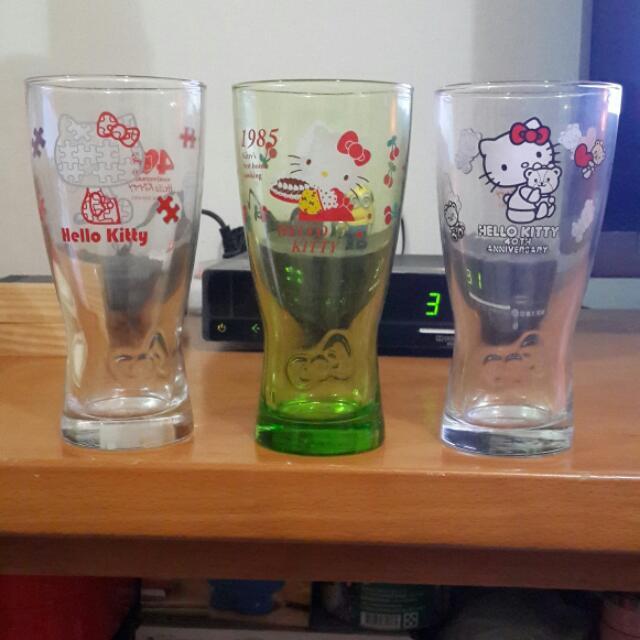 Hello Kitty玻璃杯