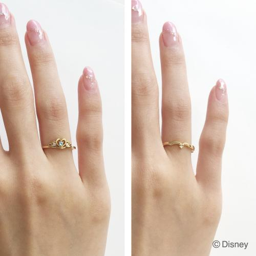 Japan Disney Collection Jewelry Disney ring Beauty and the Beast