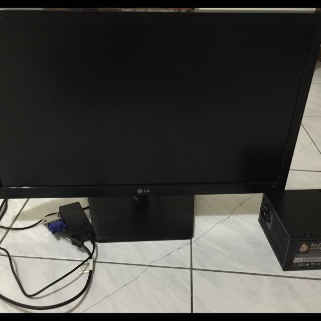 27寸LG液晶電腦螢幕加550w電源
