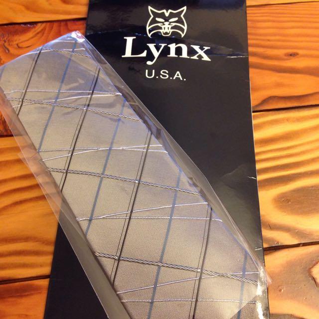 Lynx專櫃領帶👔