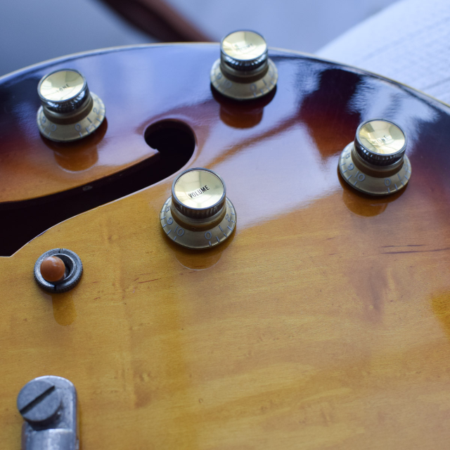 RARE 1981 Greco Super Real Series SA-900 ES335 Style with OHSC