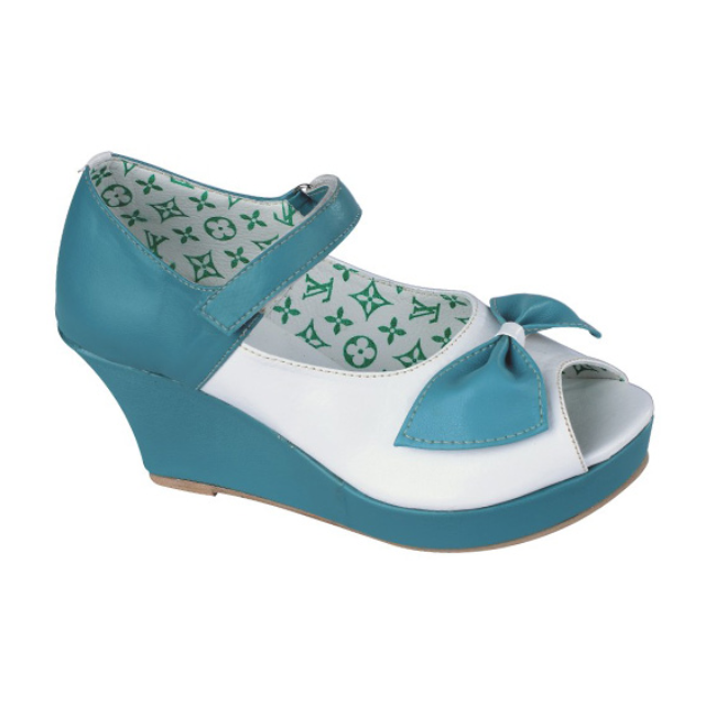 Sepatu sandal Anak Perempuan Sepatu Sandal Wedges Anak Balita slop anak  terbaru lucu branded Murah Cantik CLAS 021 49e4106002