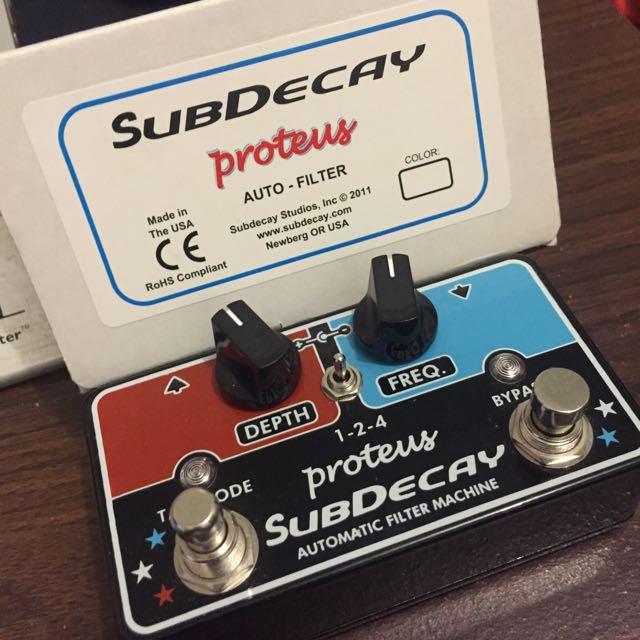 Subdecay Protus Auto-filter 吉他效果器