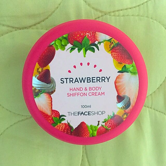 THE FACE SHOP 草莓口味護手霜 (韓國購入)