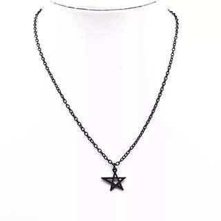 Accessory💍五芒星簍空項鍊