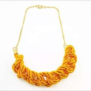 Accessory💍歐美誇張編織項鍊