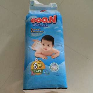 Goo.n Diapers. Size S