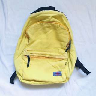 Yellow Harversack Bag/ Bagpack