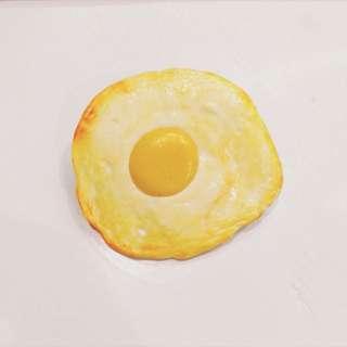食物系列-荷包蛋別針