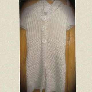 針織毛衣 米黃色 典雅