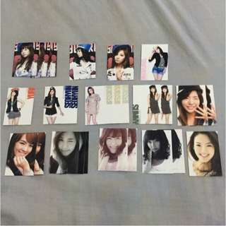 SNSD Girls Generation cards clearance