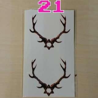 紋身貼紙~No.21