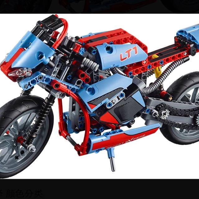 2015 Lego樂高摩托車