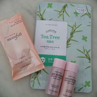 Innisfree Sample Products