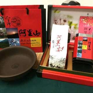 筆藝洋行-優選阿里山正統台灣茶葉好茶禮盒 含運
