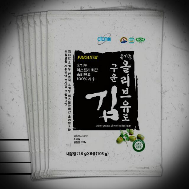 Atomy艾多美*韓國香烤海苔(大片)