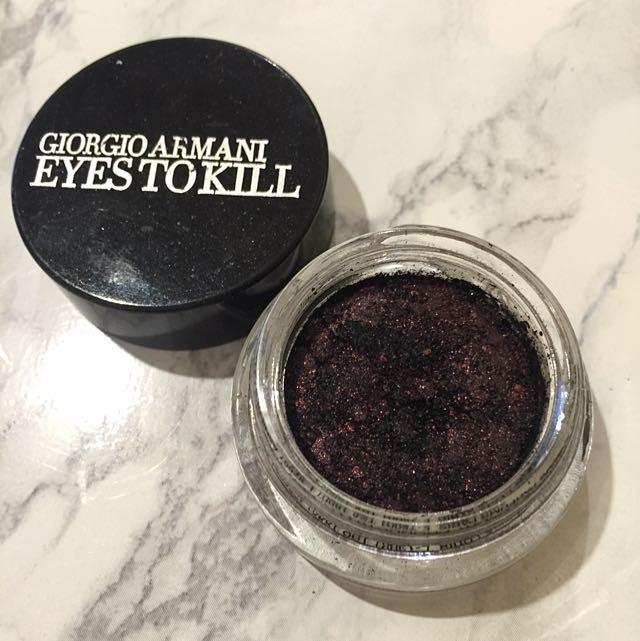 Giorgio Armani Eyes To Kill Eyeshadow in #2 Red Lust
