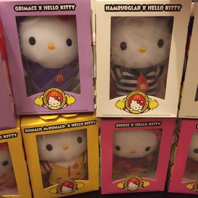 麥當勞Hello Kitty紀念版娃娃