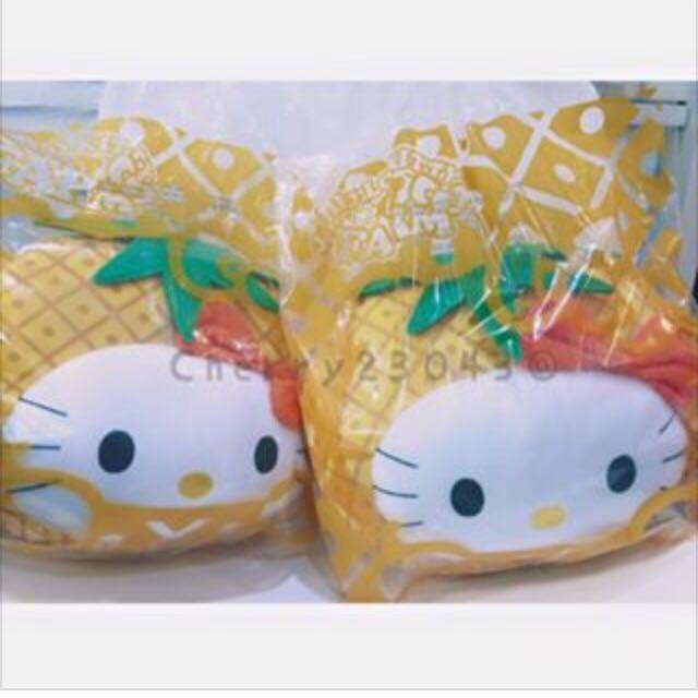 麥當勞hellokitty 鳳梨抱枕
