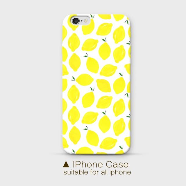 Iphone6檸檬小清新軟殼