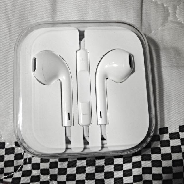 全新原廠iPhone 耳機