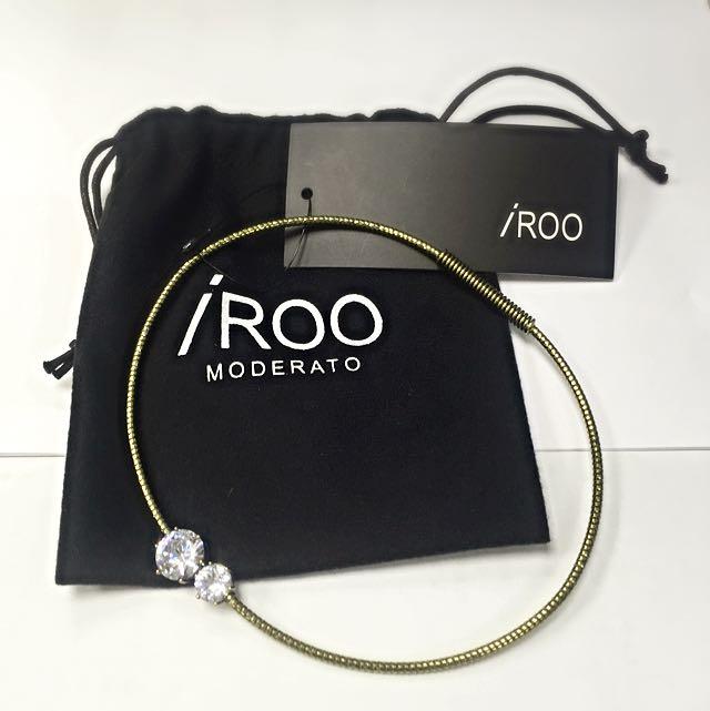 iROO施華洛世奇水鑽項鍊(全新)(已出售)