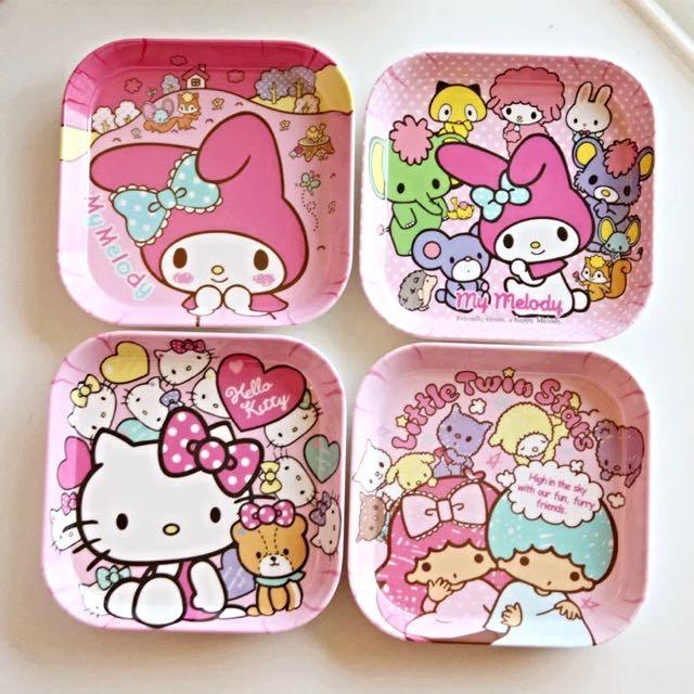 超可愛卡通Kitty美耐品小碟子