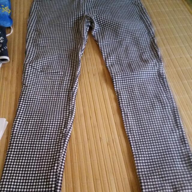 QueenShop窄管褲L號
