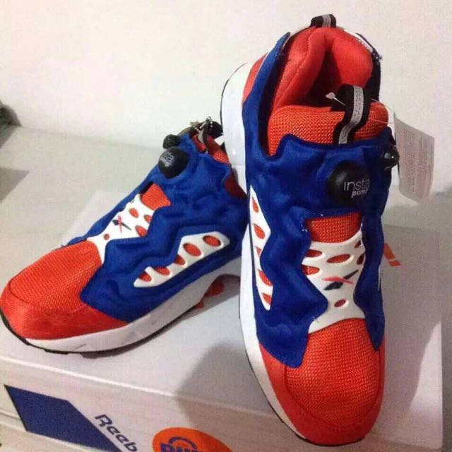 Reebok Insta Pump Fury Road 尼克配色